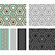 Fashion Pattern with Hexagons - GraphicRiver Item for Sale