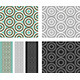 Fashion Pattern with Circles - GraphicRiver Item for Sale