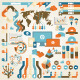 Infographic Elements and Communication Concept - GraphicRiver Item for Sale