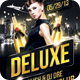 Deluxe Nightclub Party Flyer - GraphicRiver Item for Sale