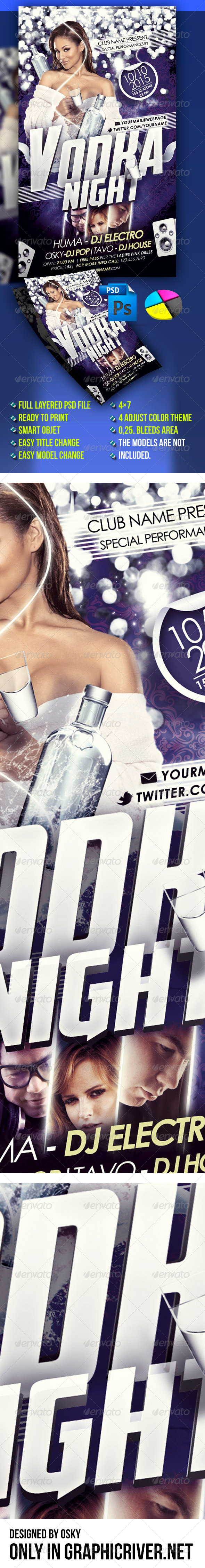 Vodka Night - Clubs & Parties Events