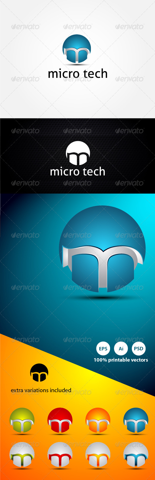 Micro Technology - 3d Abstract