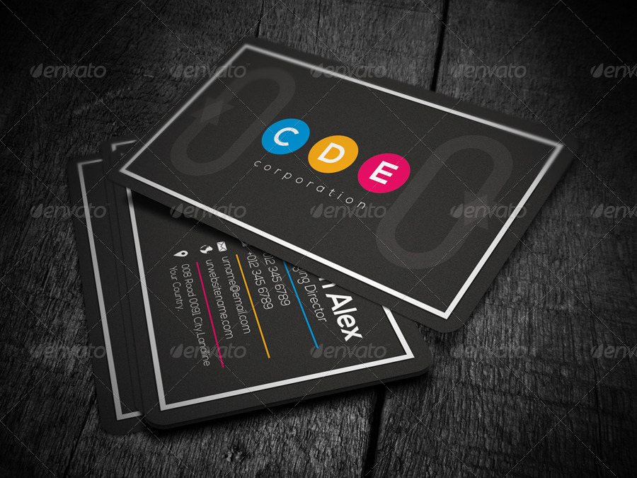 Marketing Business Card by -axnorpix | GraphicRiver