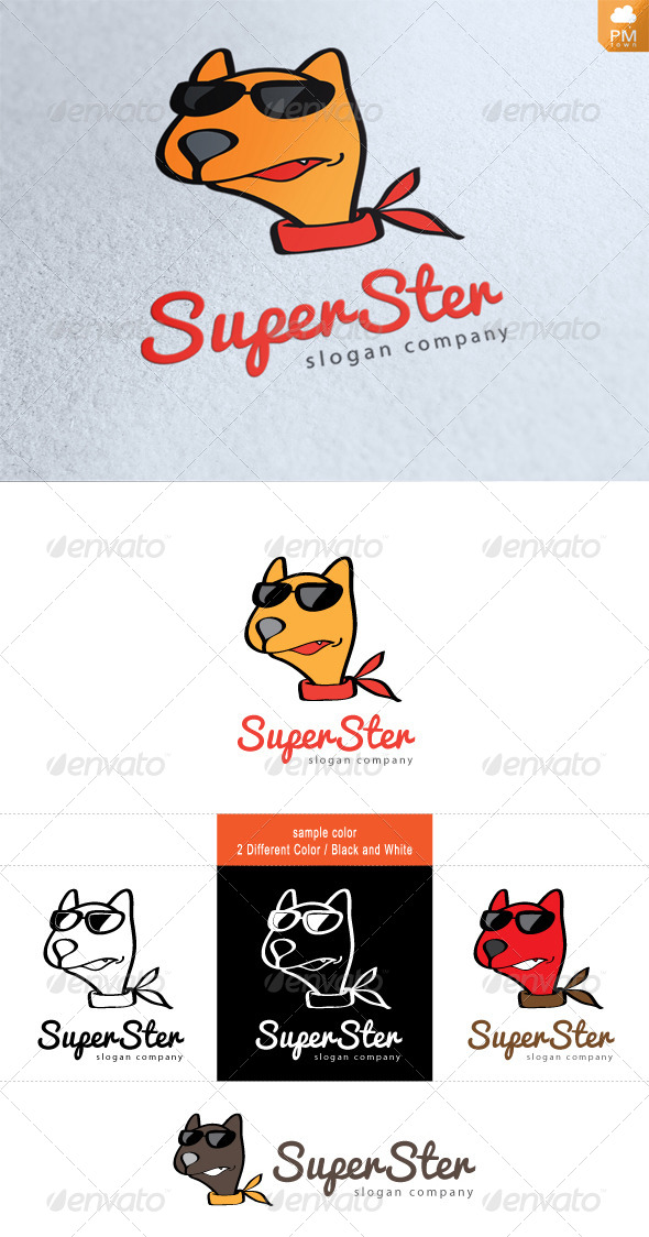 Super Star - Animals Logo Templates
