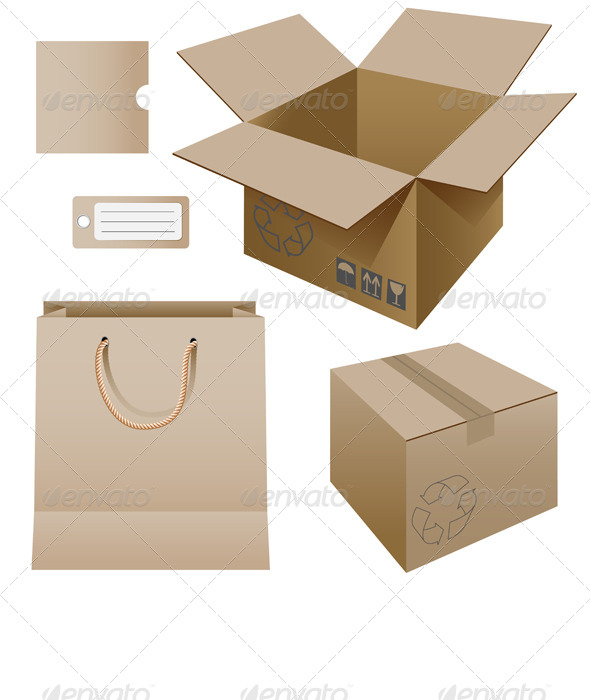 Cardboard Products - Commercial / Shopping Conceptual