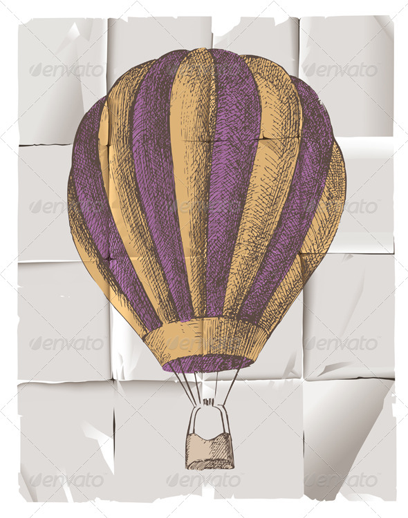 Hot Air Balloon - Miscellaneous Vectors