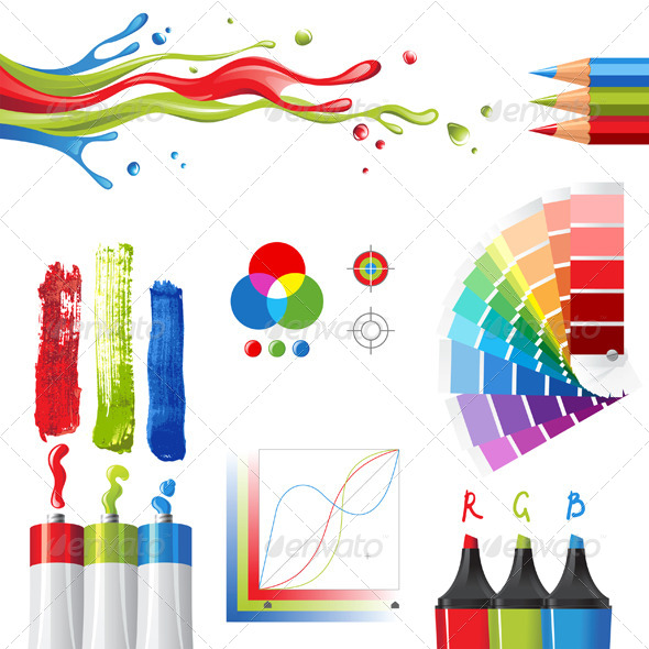 RGB Color Mode  - Technology Conceptual
