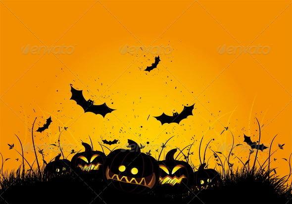 Halloween grunge background - Halloween Seasons/Holidays
