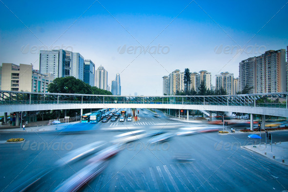 Road and car - Stock Photo - Images