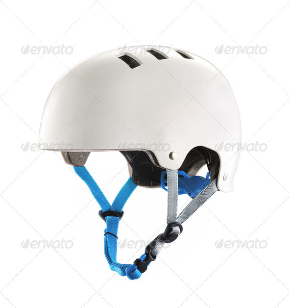 A hocket helmet isolated - Stock Photo - Images