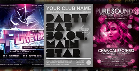 23 Crazy Cool Concert Flyer Templates