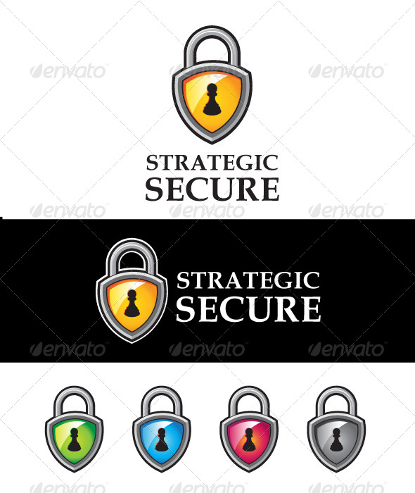 Strategic Secure - Vector Abstract
