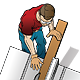 Carpenter and Table Saw/Construction Worker - GraphicRiver Item for Sale