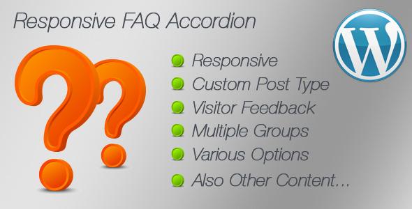 Responsive FAQ Accordion - CodeCanyon Item for Sale