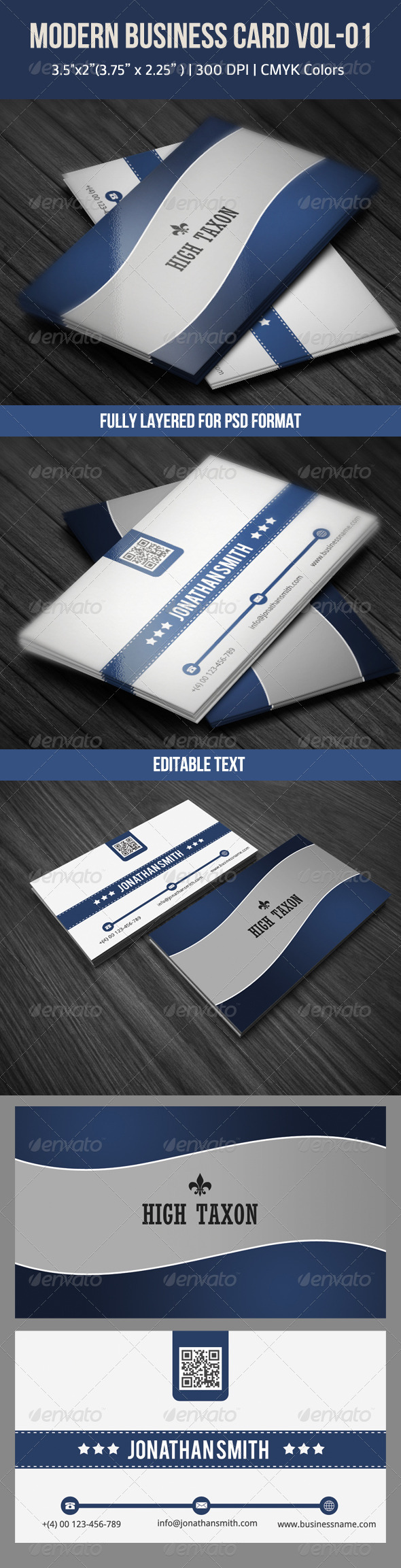 Modern Business Card - Corporate Business Cards