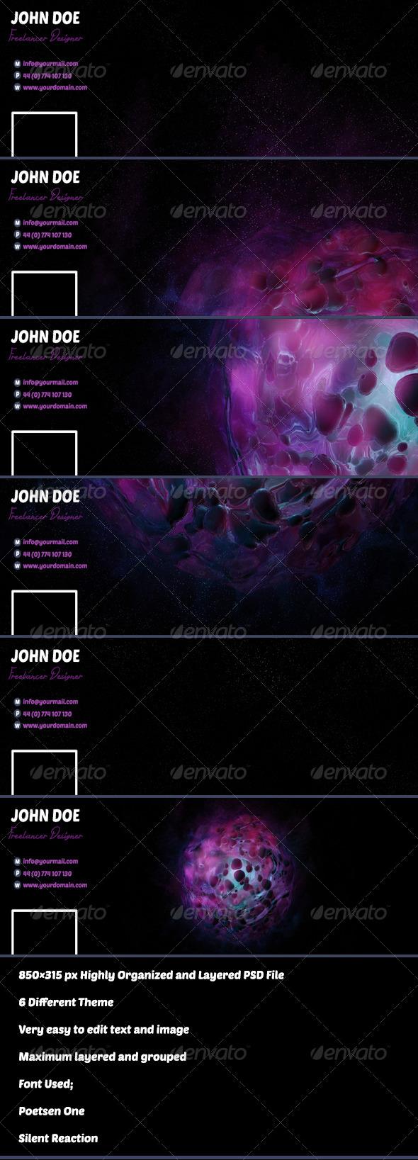 Facebook Timeline - Social Media Web Elements