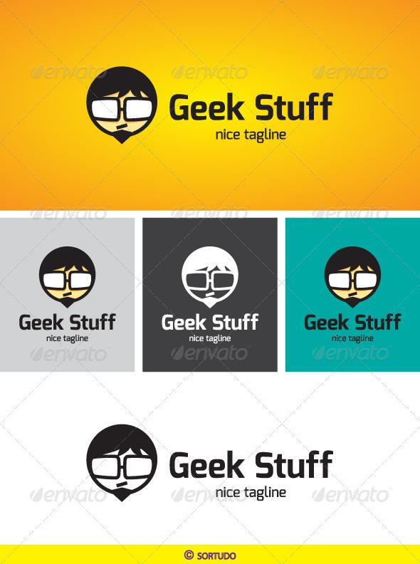 Geek Stuff Logo Template - Humans Logo Templates
