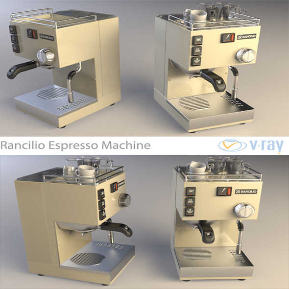 Rancilio Espresso Machine - 3DOcean Item for Sale