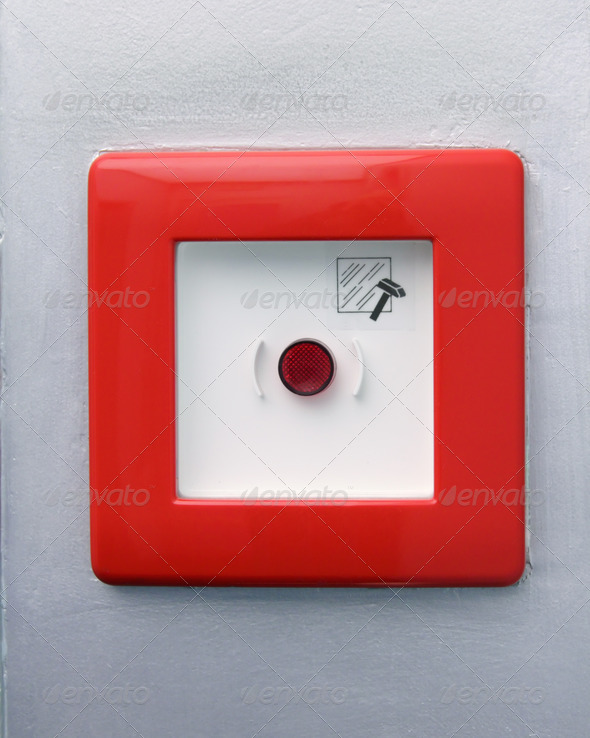 Emergency button - Stock Photo - Images