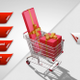 Gift Box Shopping Cart  - VideoHive Item for Sale