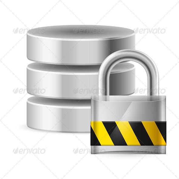 Database Icon Off - Miscellaneous Vectors