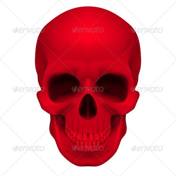 Red Skull - Characters Vectors