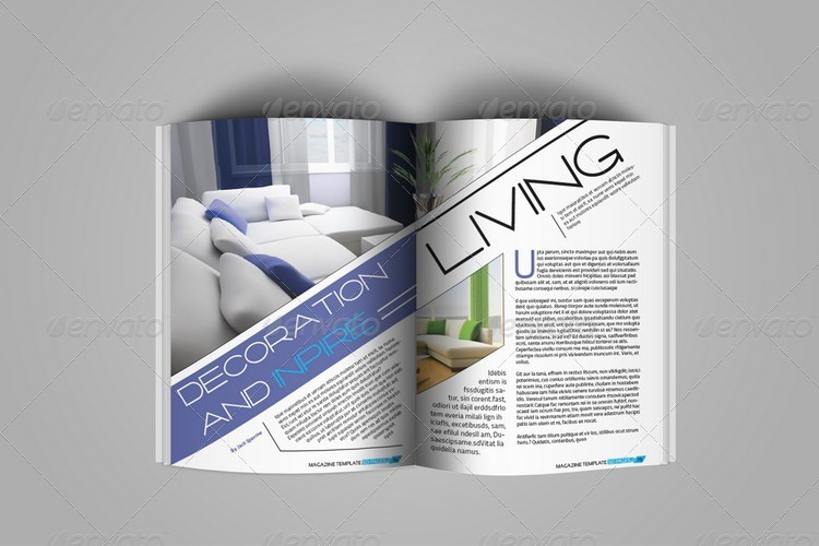 Creative Indesign Magazine Template (50 Pages) by Jazh | GraphicRiver