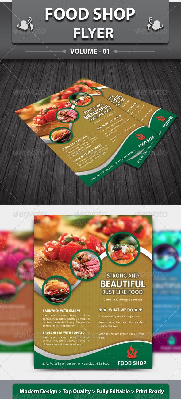 Restaurant Business Flyer | Volume 3 - Restaurant Flyers