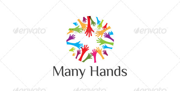 Many Hands - Abstract Logo Templates