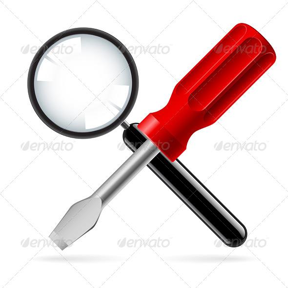 Tools for Repair - Objects Vectors