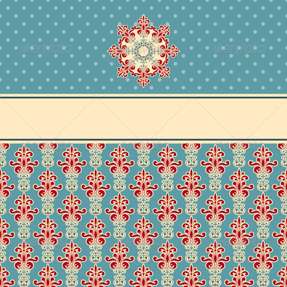 Vector Card - Patterns Decorative