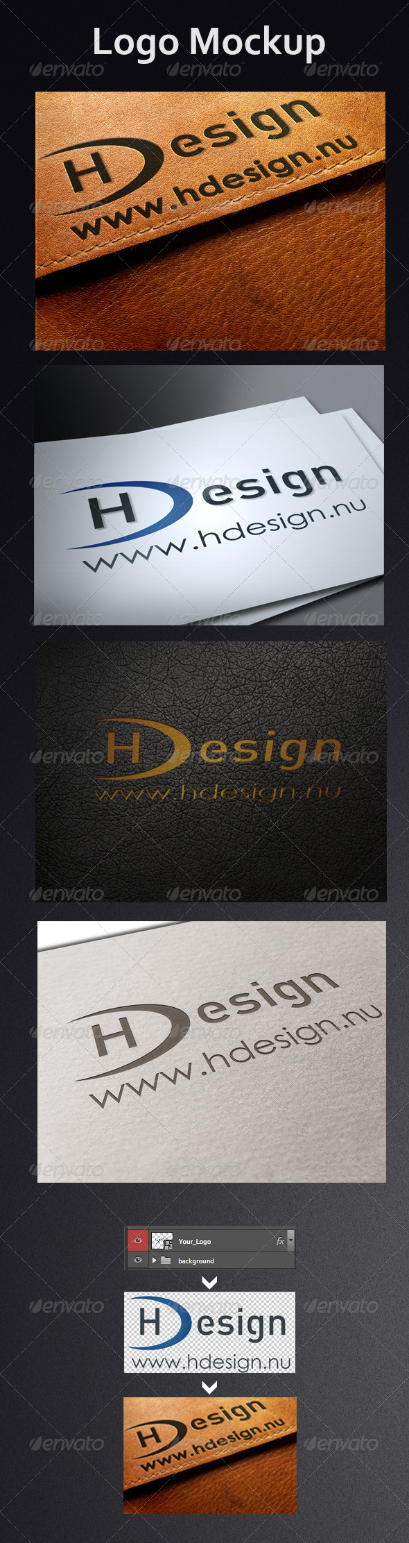 Logo Mock-Ups - Miscellaneous Product Mock-Ups