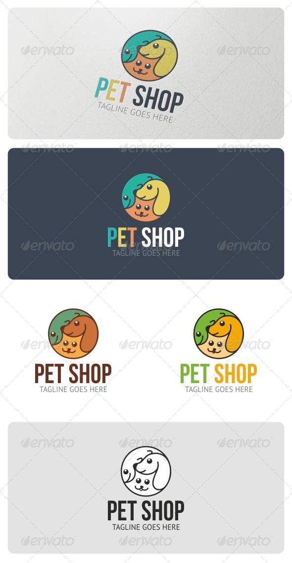 Pet Shop Logo Template - Animals Logo Templates