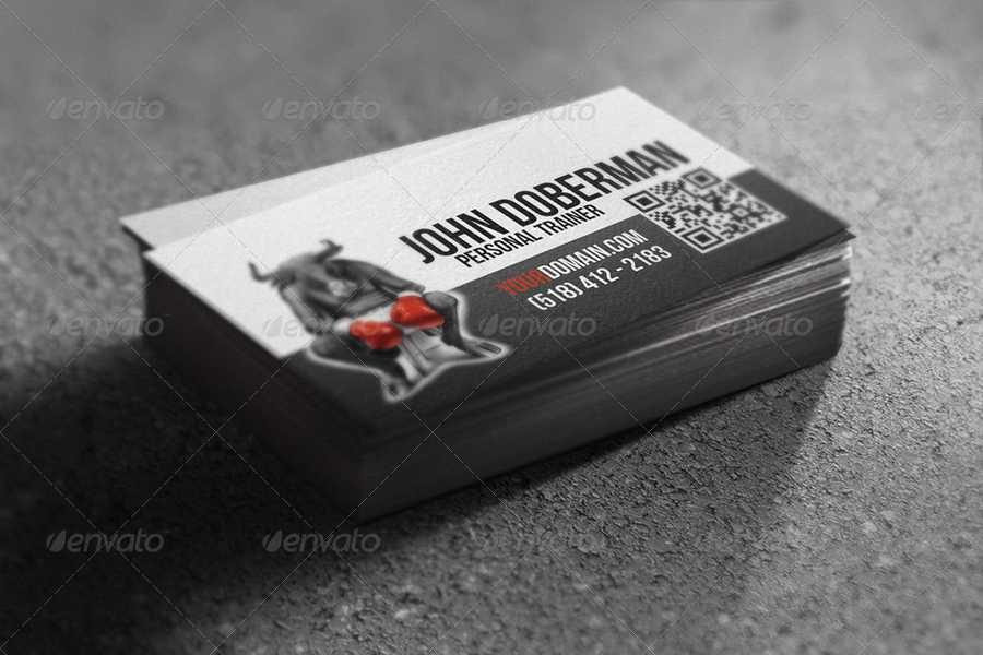 Fight Club Business Card by webOpium   GraphicRiver