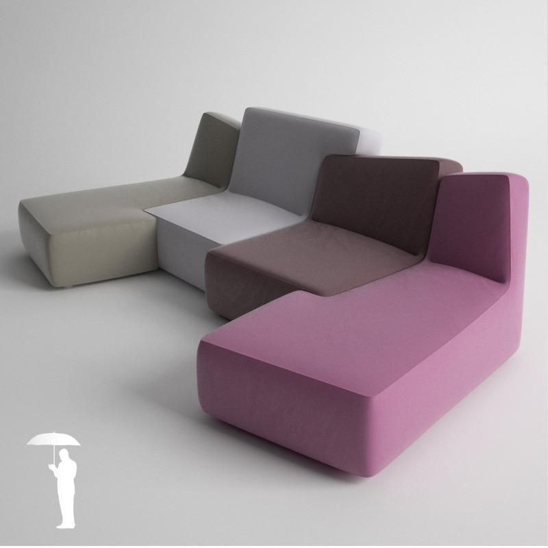 ligne roset confluences by konradrakowski 3docean. Black Bedroom Furniture Sets. Home Design Ideas