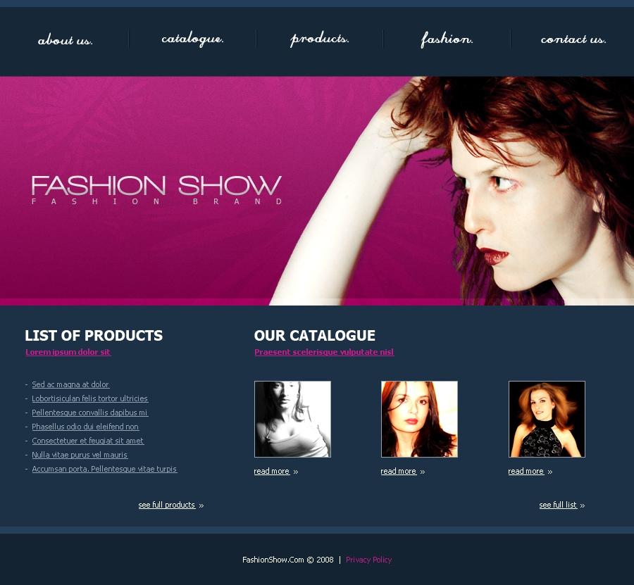 Pm00015 fashion show by petermik themeforest 53759screenshotcatalogueg maxwellsz