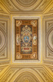 Ceiling painting with the coat of arms of Pope Leo XIII. - PhotoDune Item for Sale