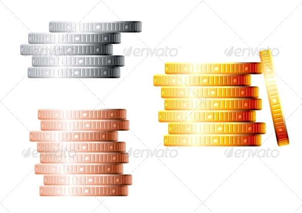 Stacks of Coins - Concepts Business