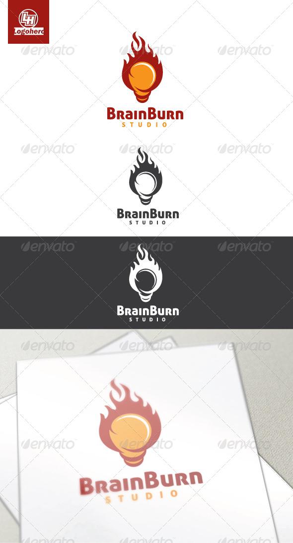 Brain Burn Logo Template - Objects Logo Templates