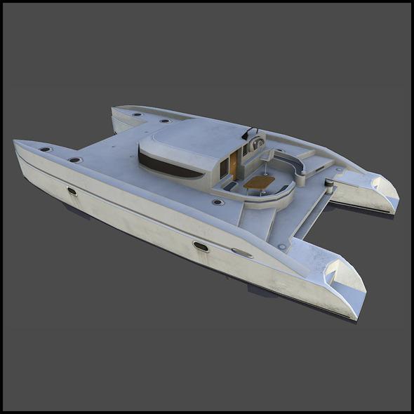 Catamaran - 3DOcean Item for Sale