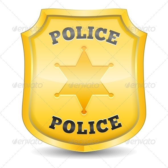 Police Badge - Miscellaneous Vectors