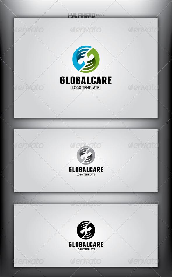 GlobalCare Logo Template - Abstract Logo Templates