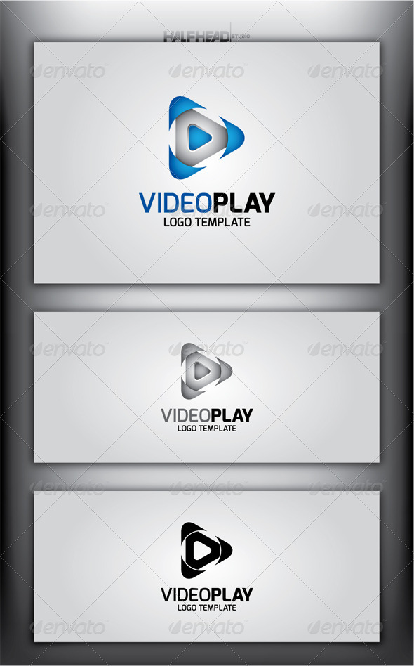 VideoPlay Logo Template - Symbols Logo Templates