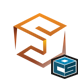 3D Cube Studio Entertainment Media Logo - GraphicRiver Item for Sale