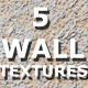 5 Wall Textures - GraphicRiver Item for Sale