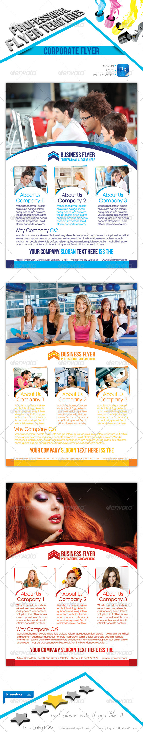 Holiday Business Flyer - Commerce Flyers