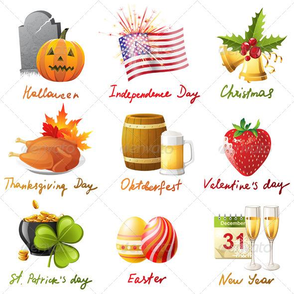 All Holidays - Seasons/Holidays Conceptual