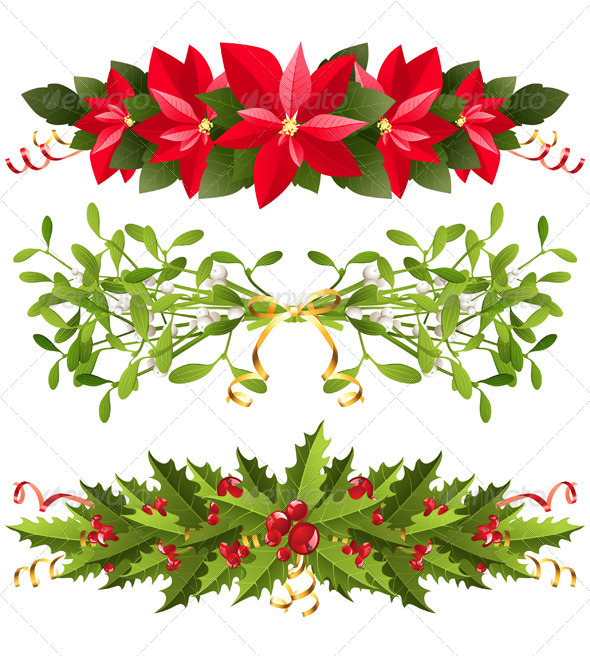 Christmas Borders - Christmas Seasons/Holidays