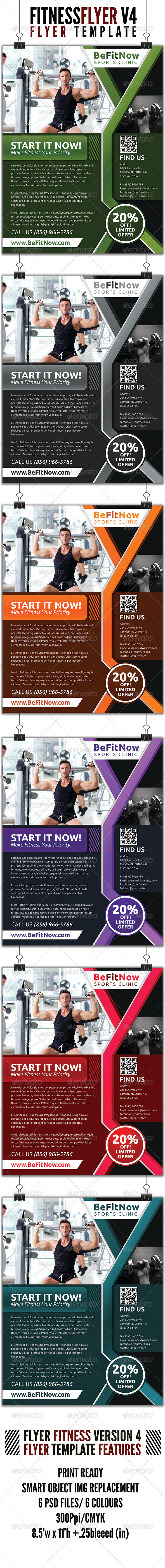 Fitness Flyer V4 - Sports Events