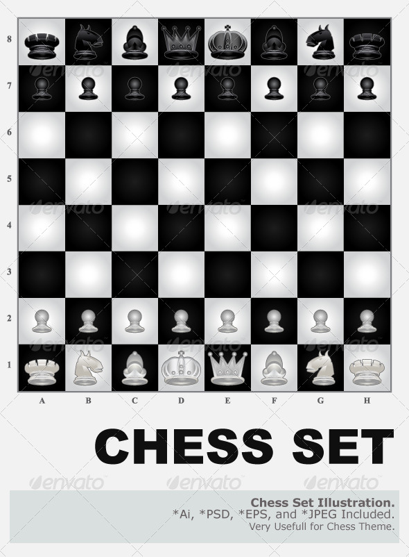 Chess Set - Sports/Activity Conceptual
